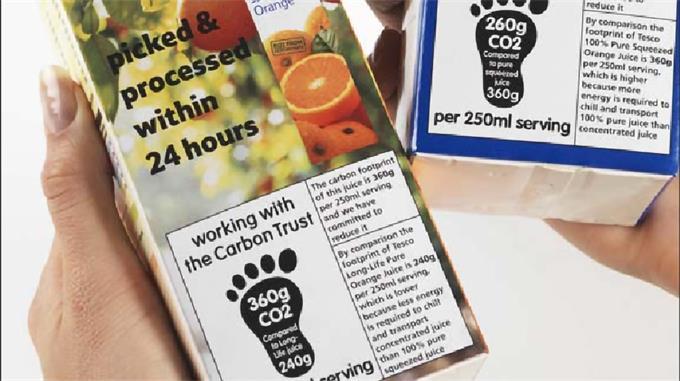 乐购贴上碳标签的产品.jpg
